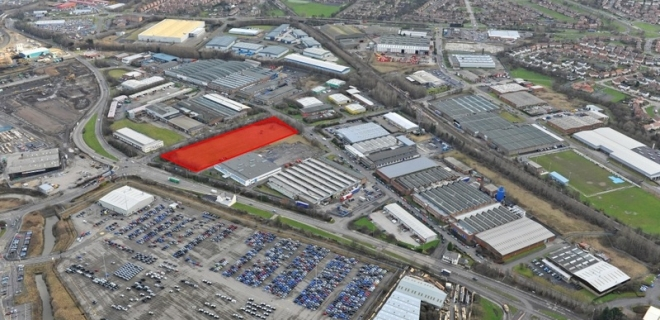 Land at Bede Industrial Estate - Development Opportunity  - Industrial Unit To Let - Bede Industrial Estate, Jarrow